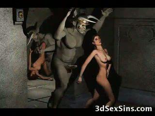 3d demons naida kuuma babes!