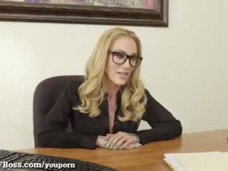 Hot Blonde Boss Always Gets What She Wants!