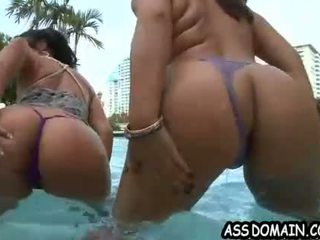 Double booty trouble Mariah Milano & Annika Adams.3.wmv