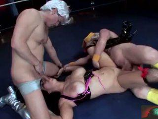 Chyna wrestler takes 它 肛門 滿 現場 2