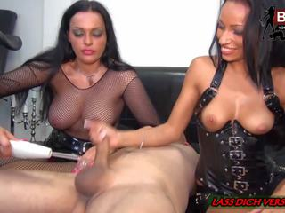 BDSM - German Teen and Mom Milk and CBT a Big Cock: Porn 5c