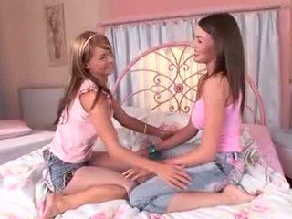 mädchen, mehr schlafzimmer ideal, lesbisch