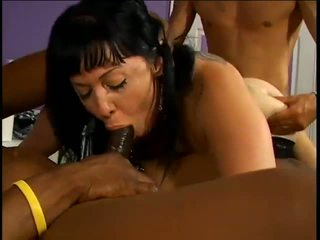 Couger with Pale Skin in Gang Bang, Free Porn 0f