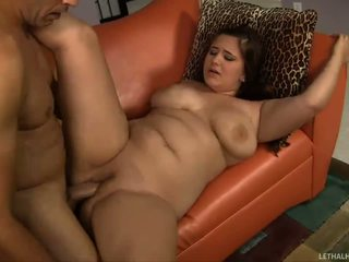 BBW likes smashing around on a big hard cock