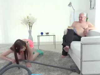Teenmegaworld - Old-n-young - Old Man Makes Sweetie...