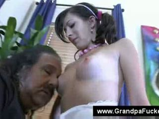 you old video, check oldguy mov, pierced