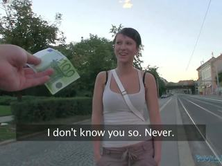 PublicAgent Busty Czech Girl Fucks on Train Station with Stranger