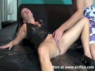 Fisting The Wifes Loose Cunt Till She Squirts