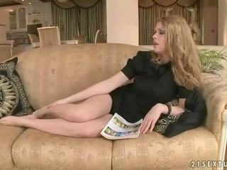 Young lady loves hot maid