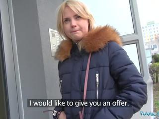 tieners video-, pov neuken, blond kanaal