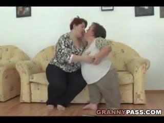 plezier bbw, een lesbiennes scène, meest grannies klem