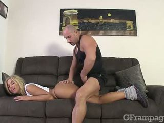 CAROL LOVES SPORT AND ANAL SEX