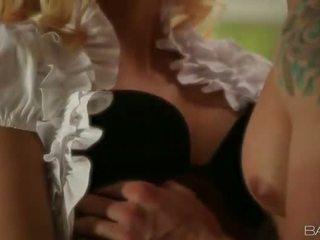 blondjes actie, zuig- film, pijpbeurt porno
