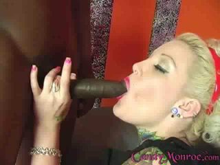 Candys pink pussy gets penetrated