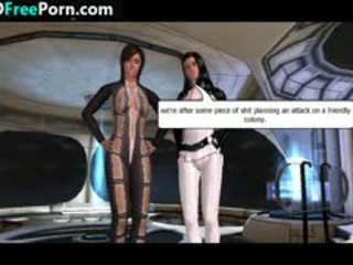 Threesome In Space In 3D