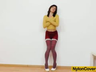 Leony Aprill Nylon Mask Distorted Beautiful Face