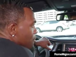 Black Porn Time! Rome Major Butt Bangs Thick Red!