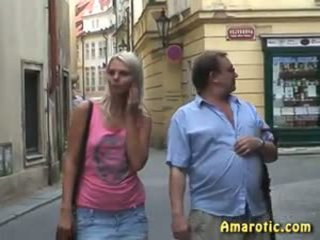 Public Sex: Blonde & Old & Young Porn Video ca