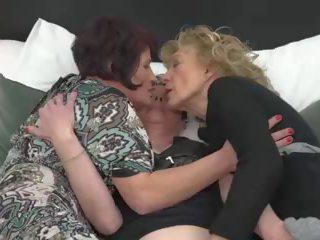 lesbiennes actie, u grannies kanaal, plezier matures porno