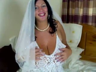 groot bbw vid, hq grote tieten scène, vol brides