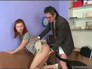 Blowjob for mature teacher