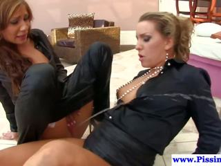 Euro Lesbians Love Goldenshowers, Free HD Porn 67