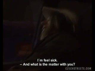 Checa amadora jovem grávida a chupar e a foder em o carro