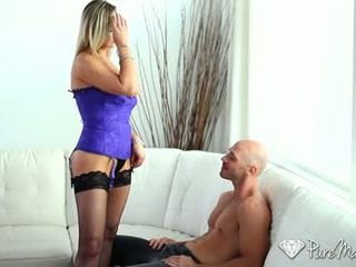oral seks besar, vaginal seks, memeriksa kulit