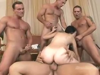 Cock loving babe Betty Sparks gets the perfect group fuck she ever wanted