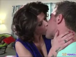 Lucy Tyler Teaches Teen Couple To Fuck While Hubby Is Away