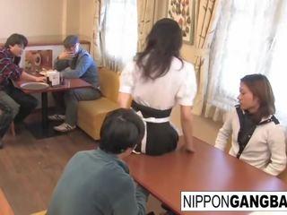 kijken japanse, kut likken scène, ideaal reverse cowgirl