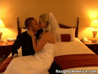 slaapkamer actie, vers brides, beste blond seks