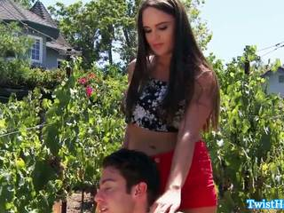 Dick Hungry Girlfriend Pussyfucked Outdoors: Free Porn 5e
