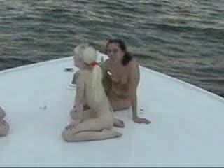 u boot, alle lesbisch video-, u drietal