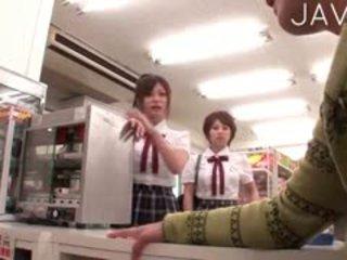 vol japanse film, groepsseks, groot pijpbeurt