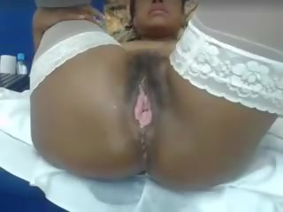 Open Pussy: Big Natural Tits & Hairy Porn Video