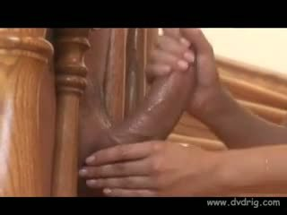 Gorgeous Brunette Sativa Rose Takes A Break From Sucking But Cant Stop Rubbing Massive Dicks Until They Ejaculate Warm Jizz On Her Lingerie Handjob Latina XXX