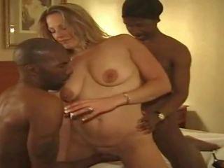 MILF Wife Hard Hotel Gangbang Big Black Cocks: Free Porn fc