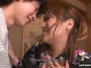 most japanese scene, toys film, double penetration fuck