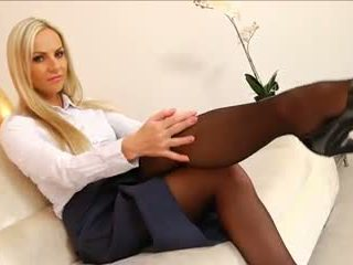 foot fetish, lingerie, nylon
