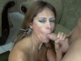 Monique Fuentes opens all her holes for a big dick