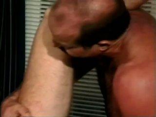 Two gay guys have fun sucking hard cock