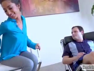 Poor Husband Watches as His Wife is Getting Banged: Porn 41