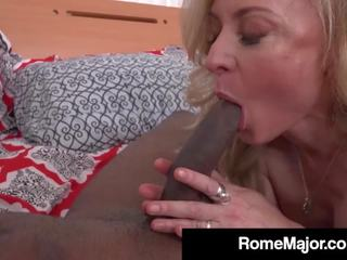 Rome Major Rams Blonde MILF Nina Hartley with BBC: Porn bc