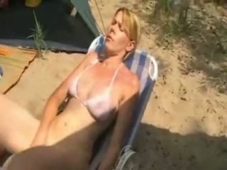 Son and mother camping sex
