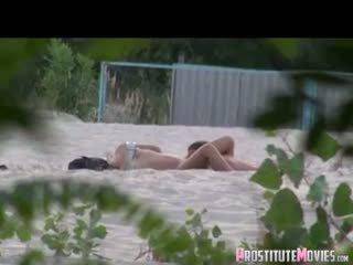 watch voyeur, nice beach quality, hq public
