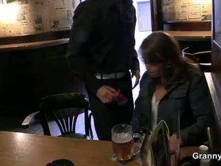 Gammal tik picked upp i den bar och screwed
