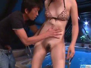 Staggering іграшка порно сцени з mami yuuki