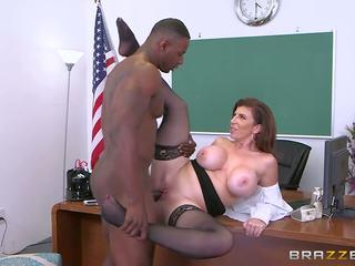 Brazzers - sara jay - velika prsi pri šola, porno 3de