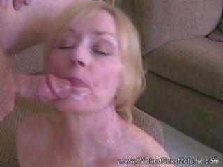 Blowjob Fuck and Facial for Grandma, Free Porn ab